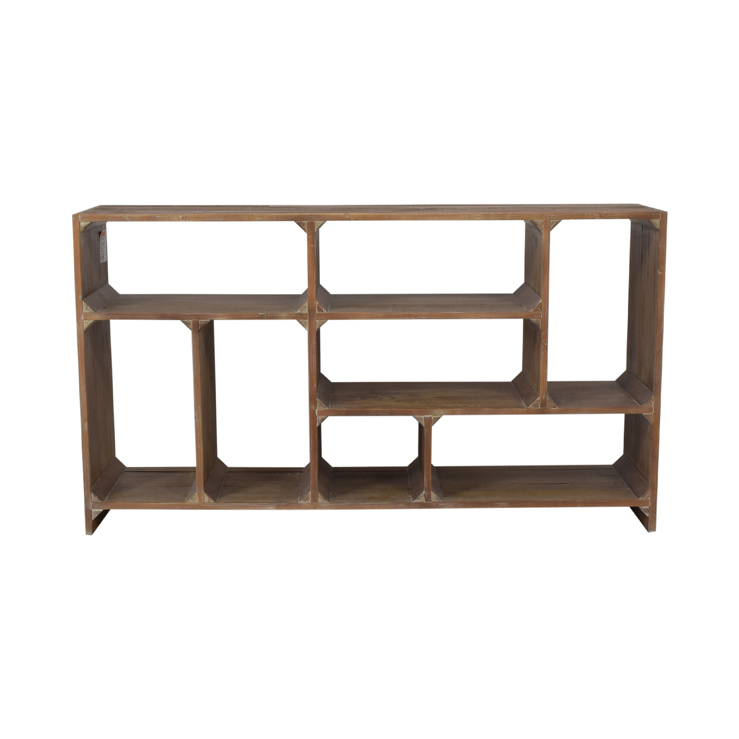 buy Restoration Hardware Reclaimed Pine Low Bookcase Restoration Hardware