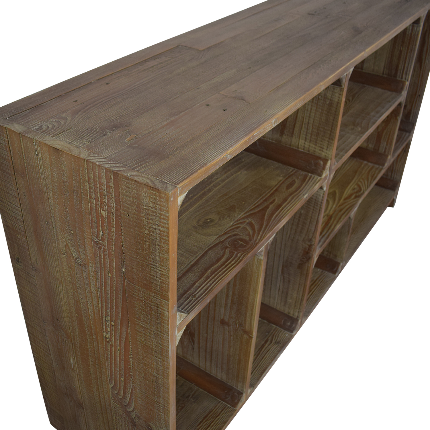Restoration Hardware Restoration Hardware Reclaimed Pine Low Bookcase dimensions