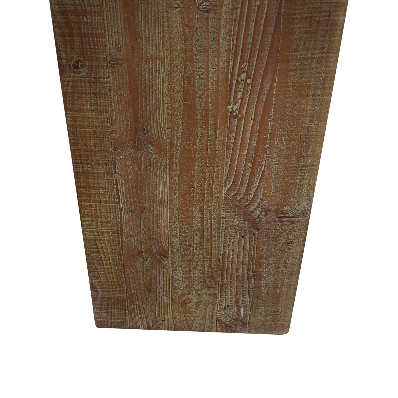 Restoration Hardware Restoration Hardware Reclaimed Pine Low Bookcase nj