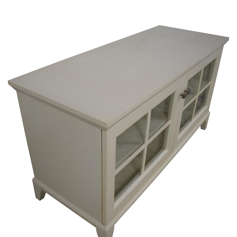 Crate & Barrel Entertainment Unit / Storage