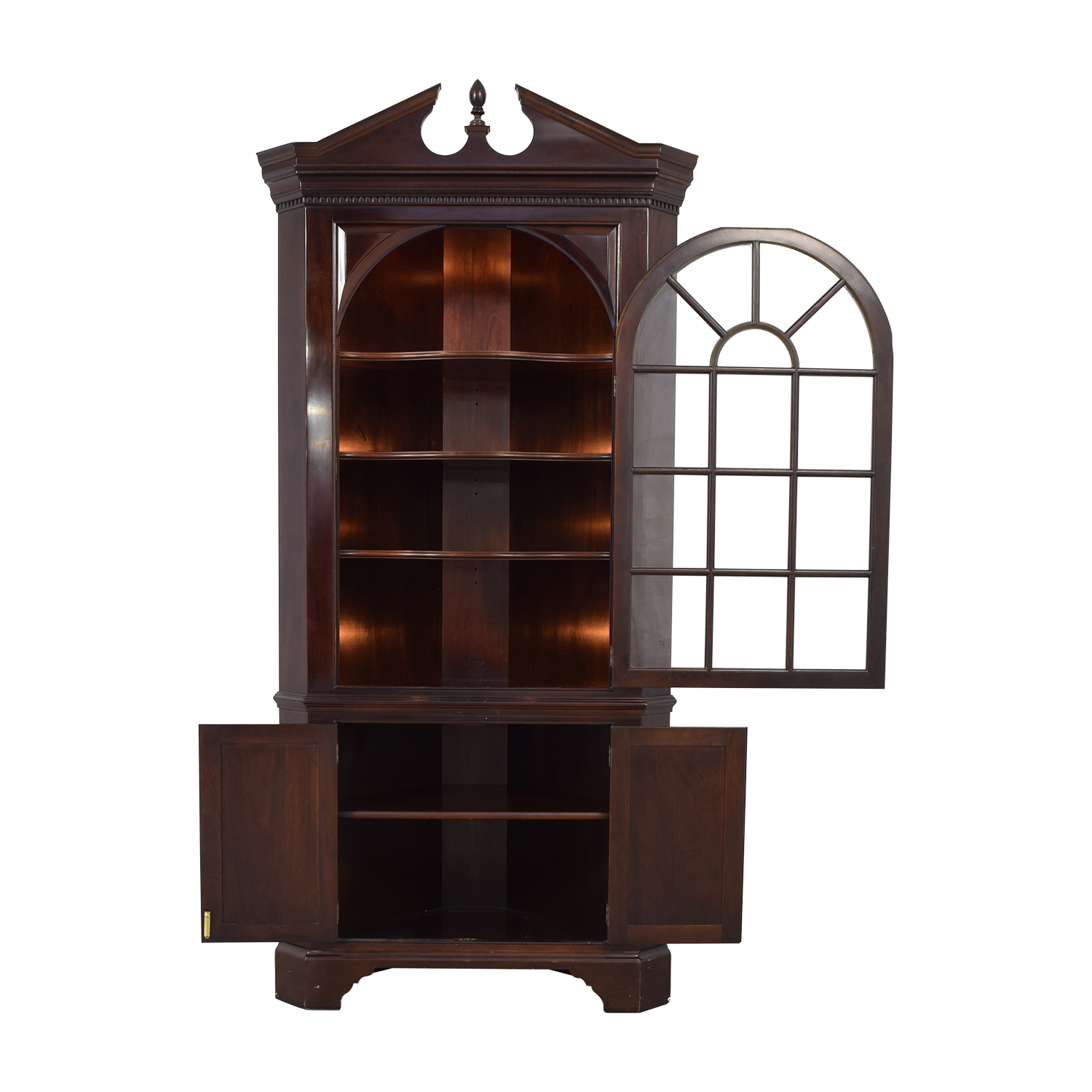 buy Stickley Furniture Corner Hutch Stickley Furniture