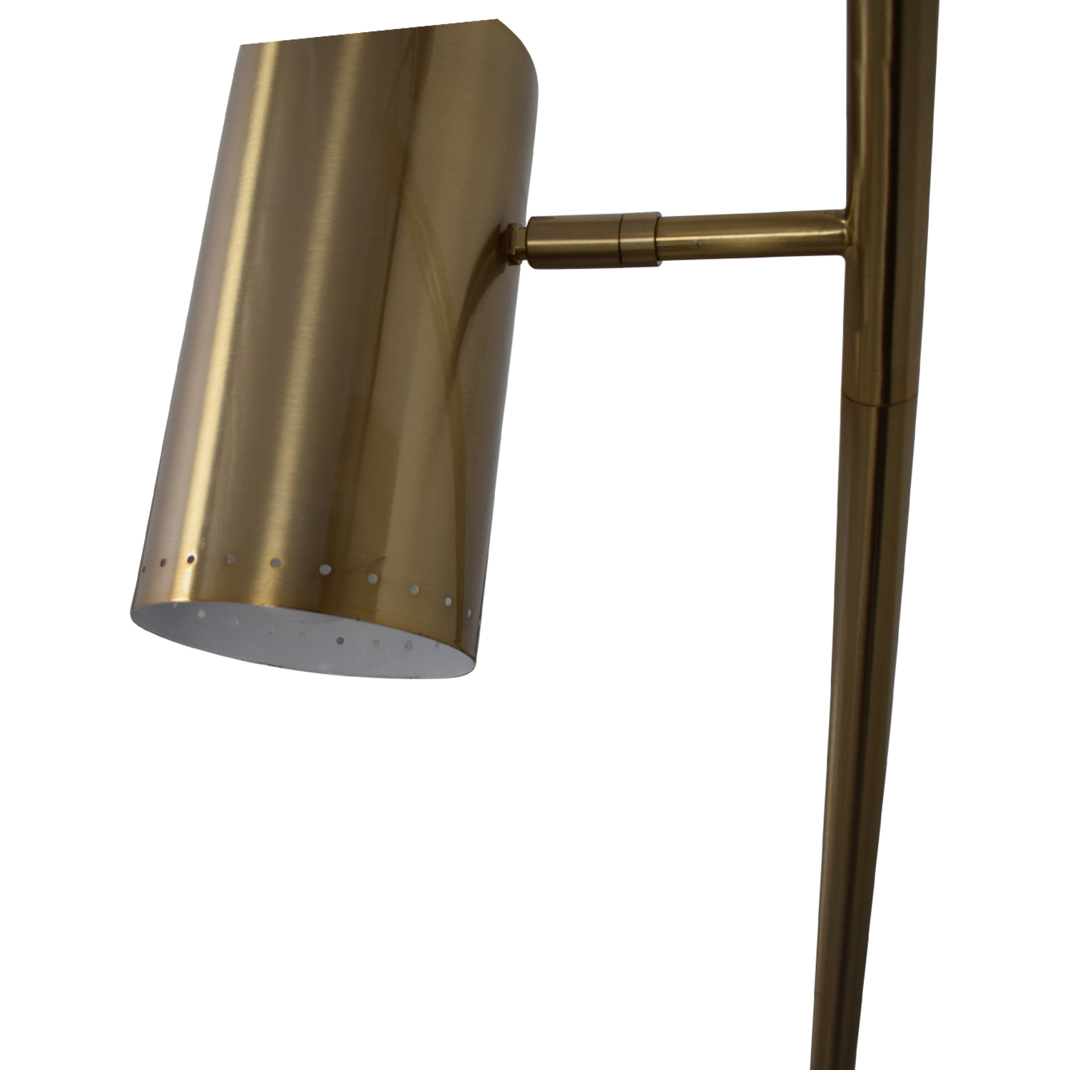 CB2 CB2 Trio Brushed Nickel Floor Lamp second hand