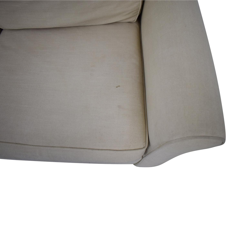 Pottery Barn Pottery Barn Cameron Roll Arm Sleeper Sofa