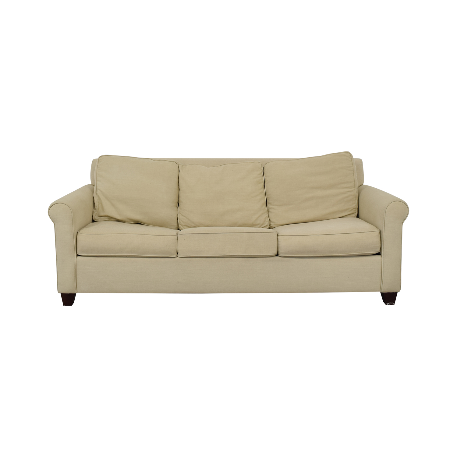 buy Pottery Barn Cameron Roll Arm Sleeper Sofa Pottery Barn Sofa Beds