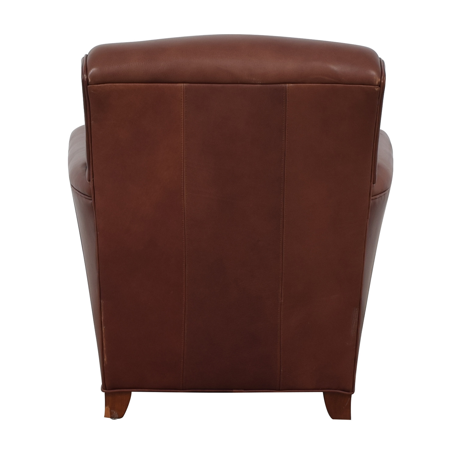 buy Stickley Furniture Stickley Furniture Leather Club Chair and Ottoman online