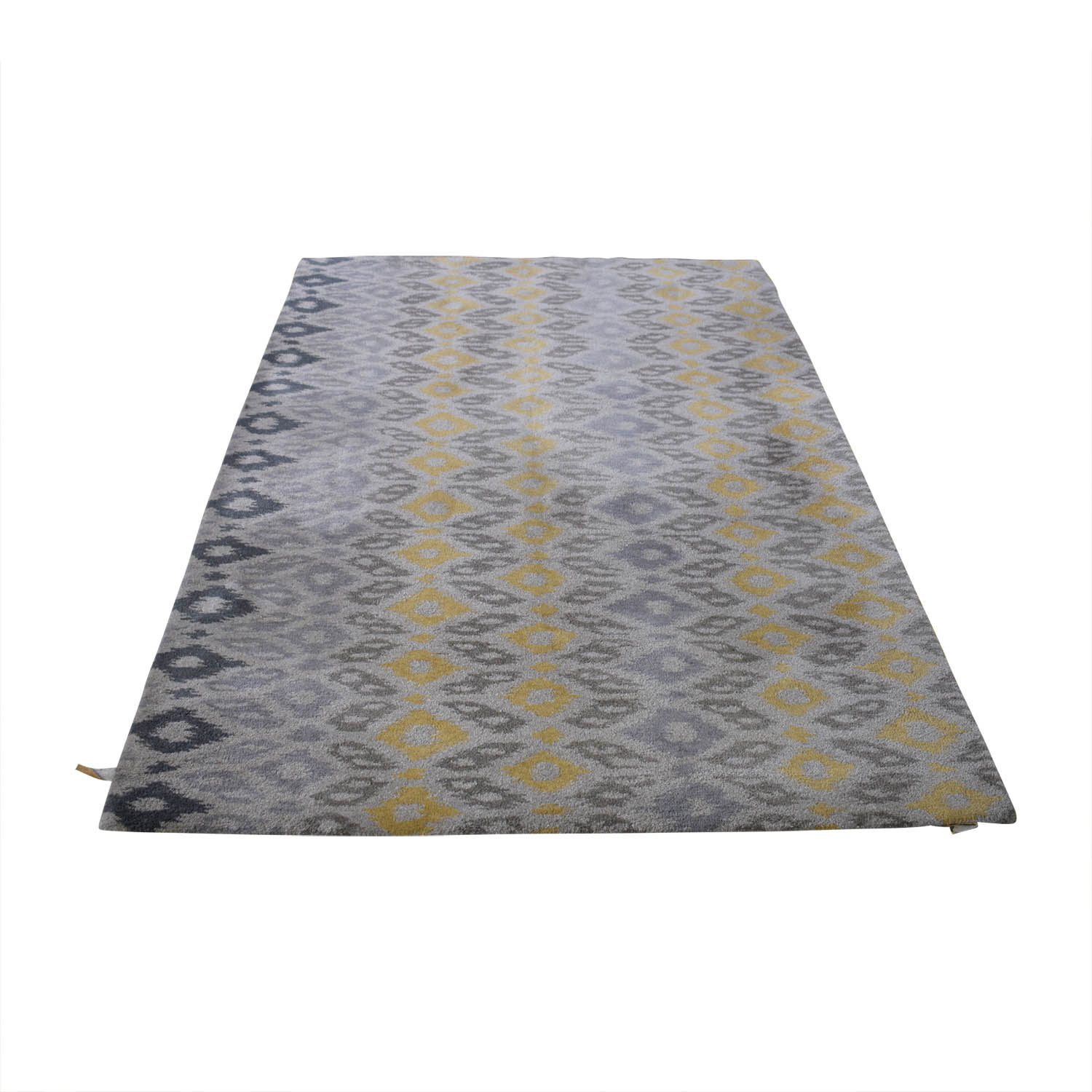 Crate & Barrel Crate & Barrel Phila Ikat Wool Rug used