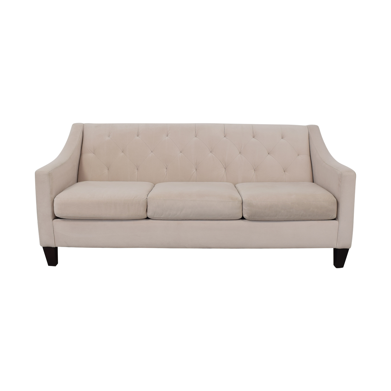 buy Max Home Tufted Microfiber Three Cushion Couch Max Home