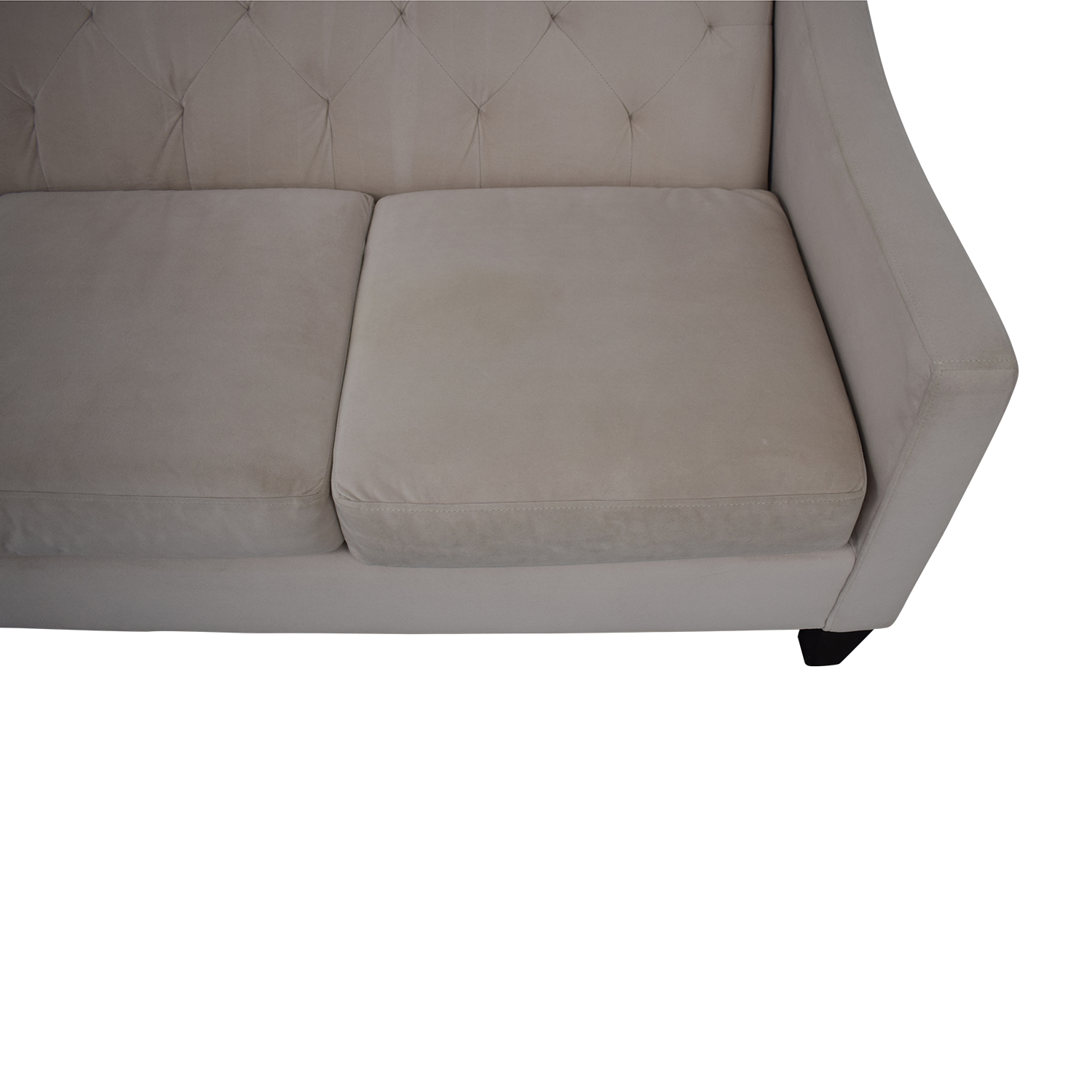 Max Home Max Home Tufted Microfiber Three Cushion Couch on sale