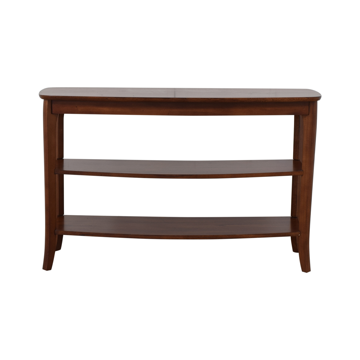 buy Pottery Barn Chloe Wood Console Pottery Barn Media Units