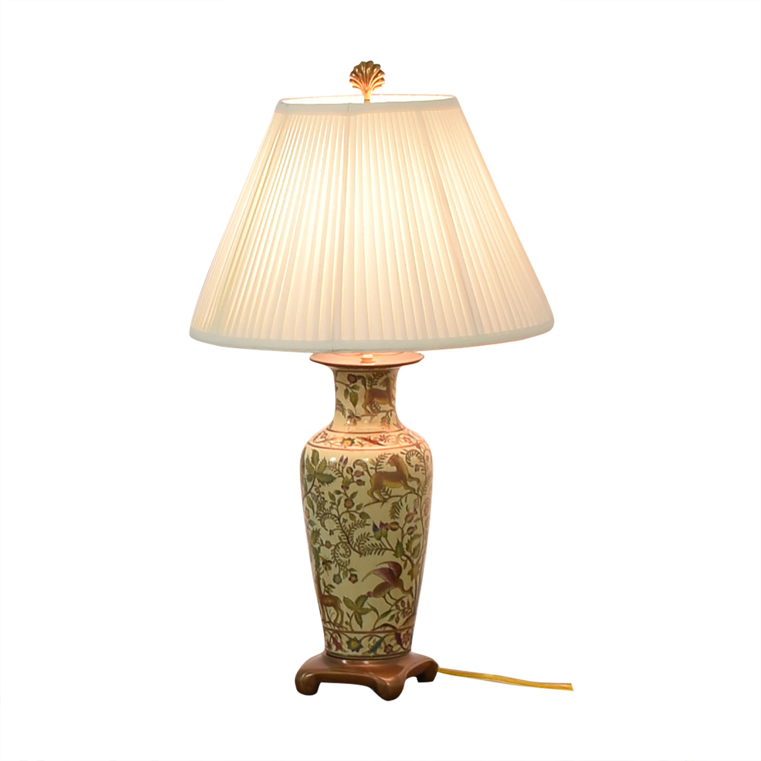 shop Painted Ceramic Table Lamp