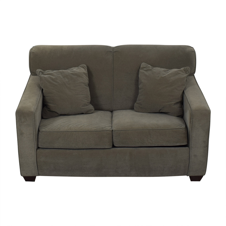 Jennifer Furniture Jennifer Furniture Carl Twin Sleeper Loveseat discount