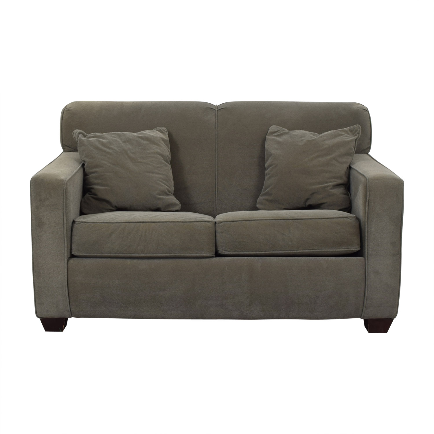 Jennifer Furniture Jennifer Furniture Carl Twin Sleeper Loveseat second hand