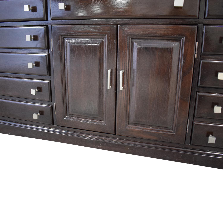 Bernhardt Bernhardt Bedroom Combo Dresser with Middle Cabinet Storage
