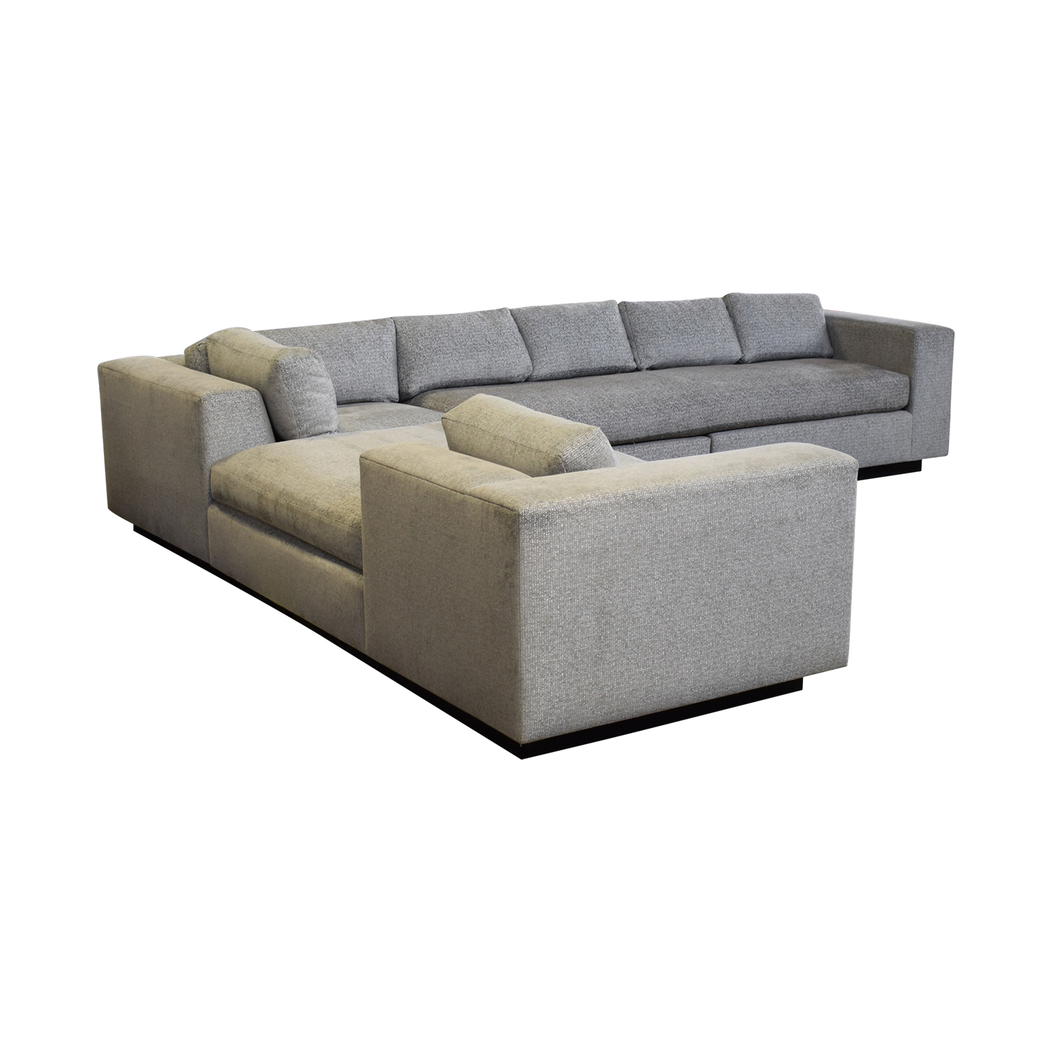 Phenomenal 83 Off Ferrell Mittman Ferrell Mittman Cooper Sectional Sofa With Reverse Chaise Sofas Gmtry Best Dining Table And Chair Ideas Images Gmtryco