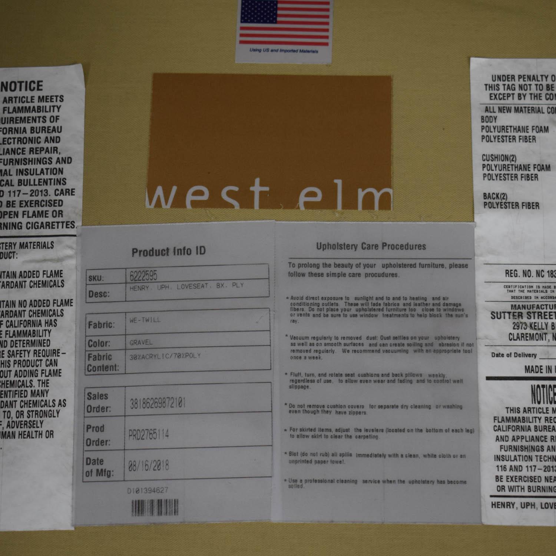 buy West Elm West Elm Henry Loveseat online