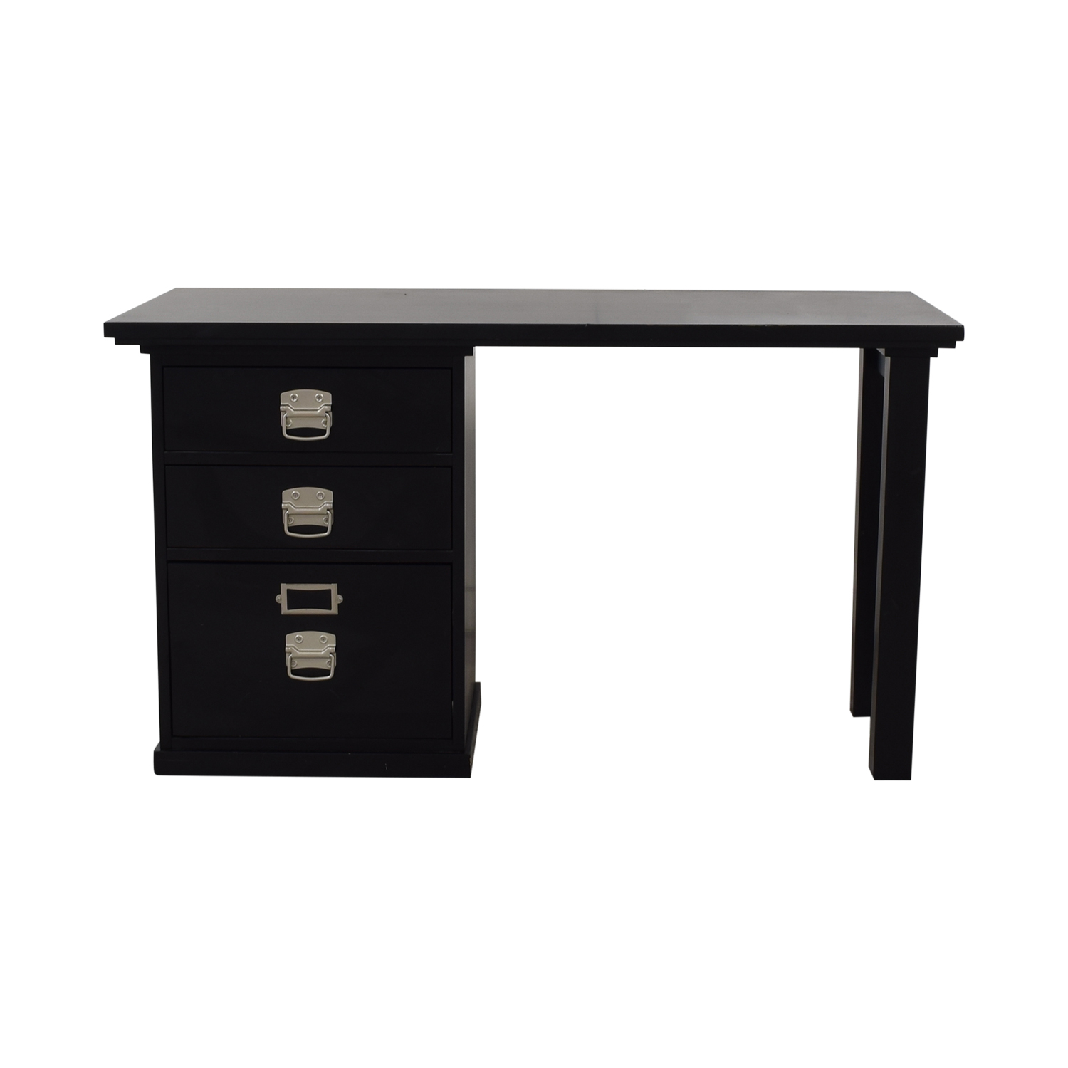 Pottery Barn Pottery Barn Bedford Three Drawer Small Desk price