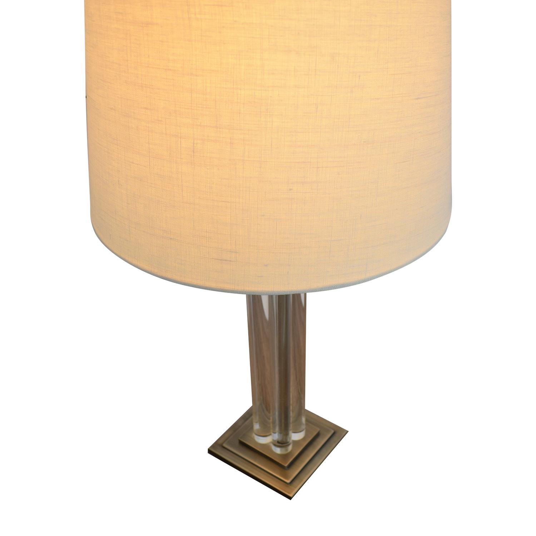 buy Crate & Barrel Crystal Lamp Crate & Barrel