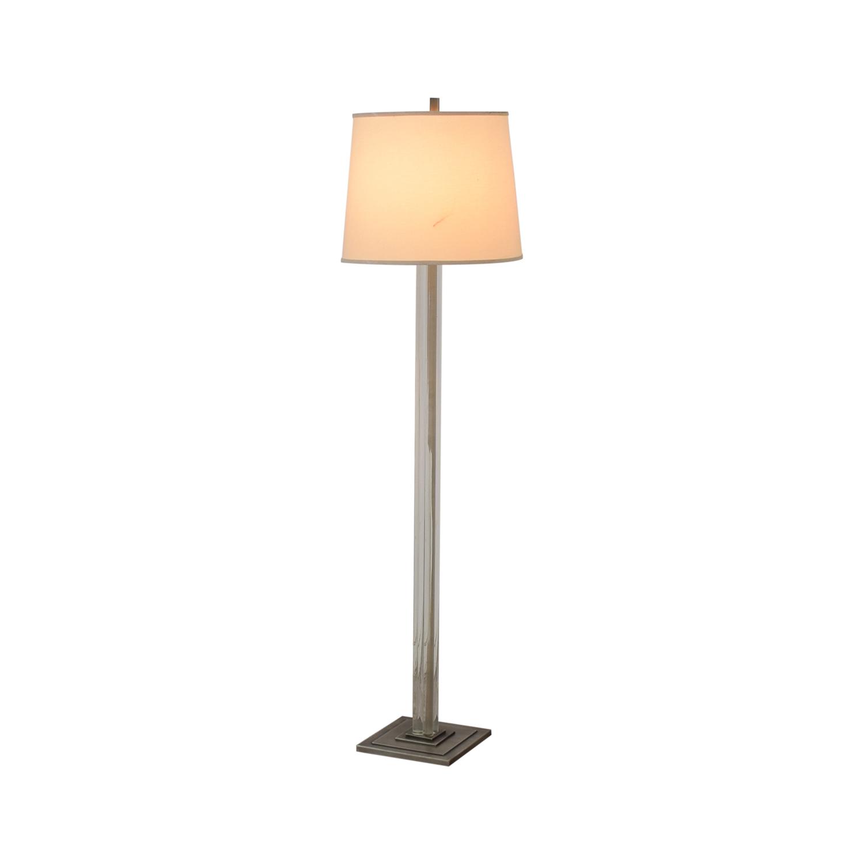 Crate & Barrel Crate & Barrel Crystal Floor Lamp used
