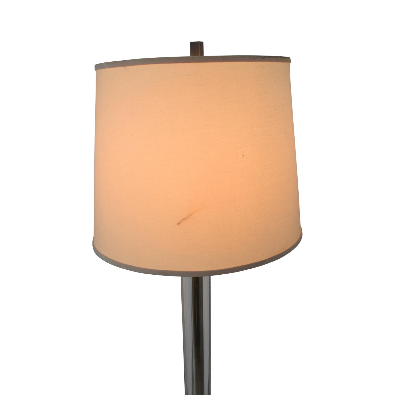 Crate & Barrel Crate & Barrel Crystal Floor Lamp on sale