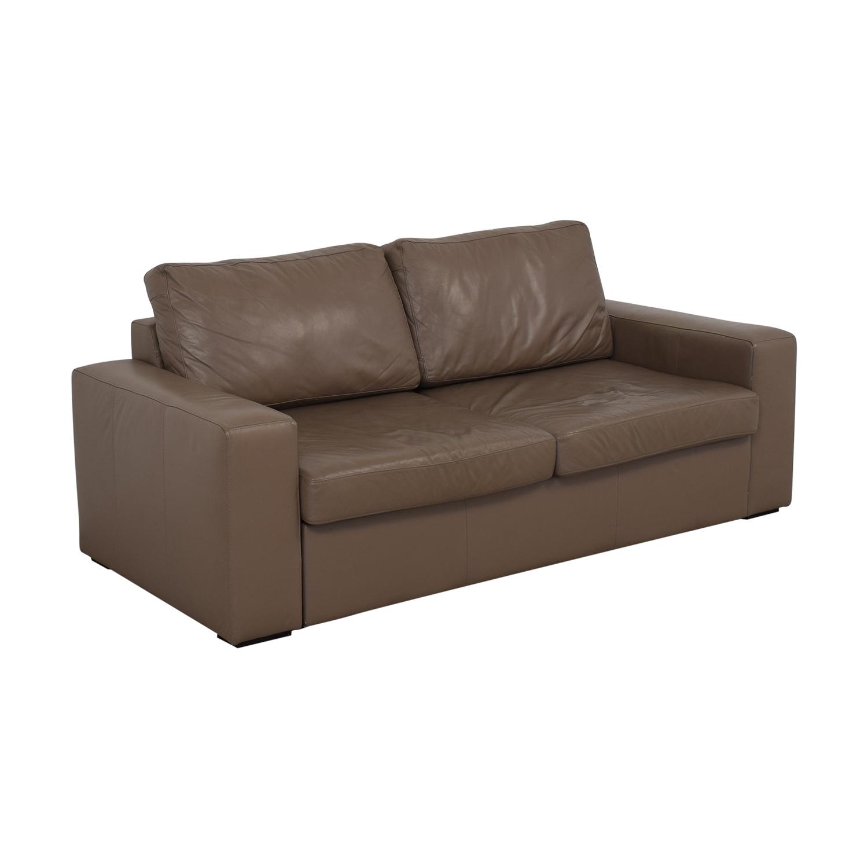 buy BoConcept Leather Sleeper Sofa BoConcept