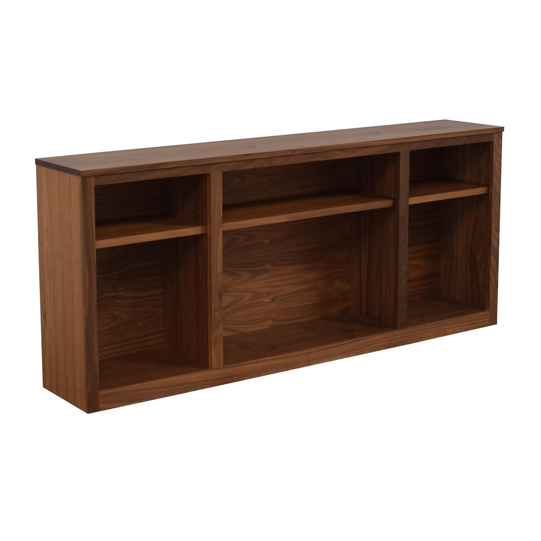 Room & Board Woodwind Walnut Bookcase / Storage