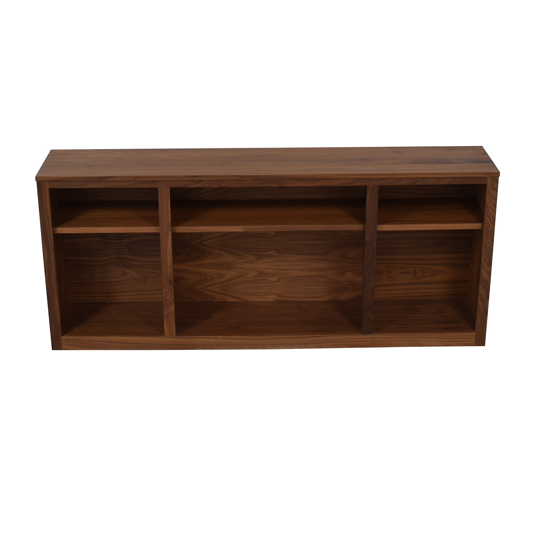 Room & Board Woodwind Walnut Bookcase sale
