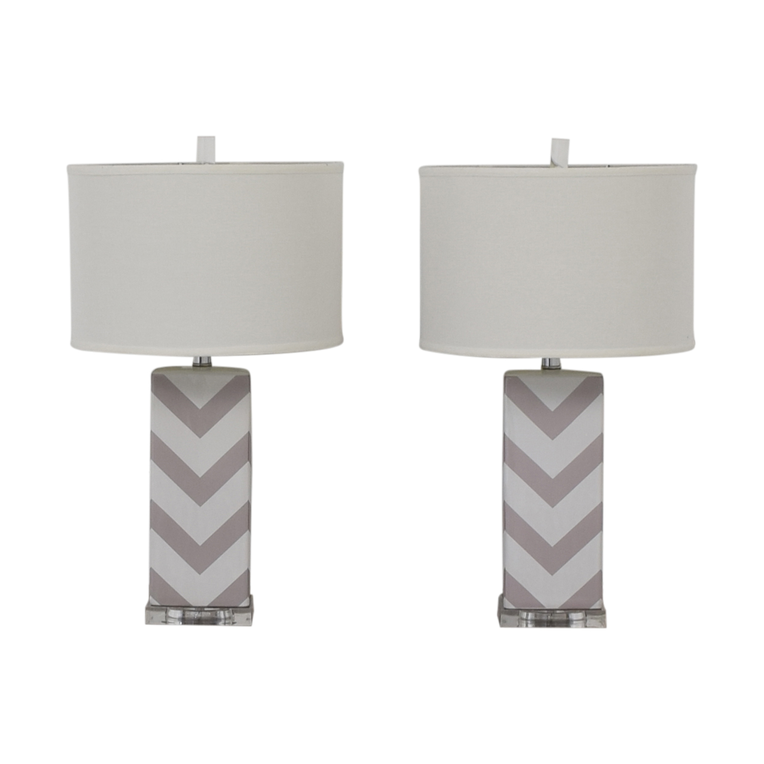 Safavieh Safavieh Chevron Strip Table Lamps nyc