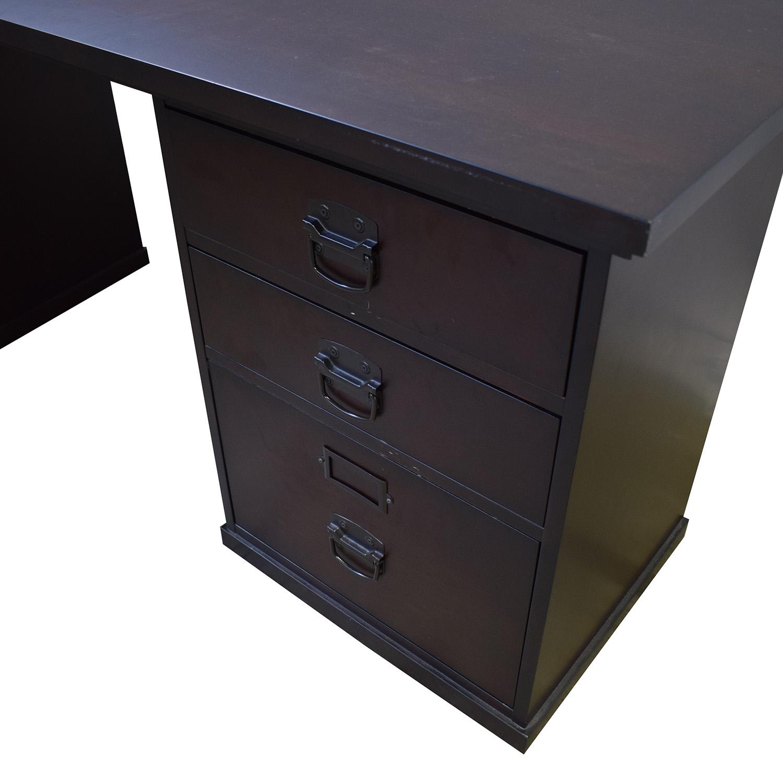 Pottery Barn Dedford 6-Drawer Rectangular Desk / Tables