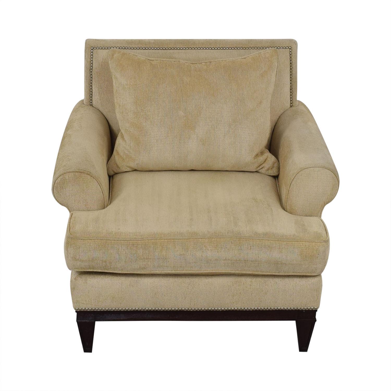 Bernhardt Bernhardt Roll Arm Accent Chair price