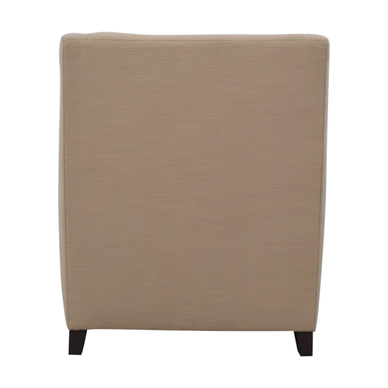 shop West Elm West Elm Sweep Beige Arm Chair online