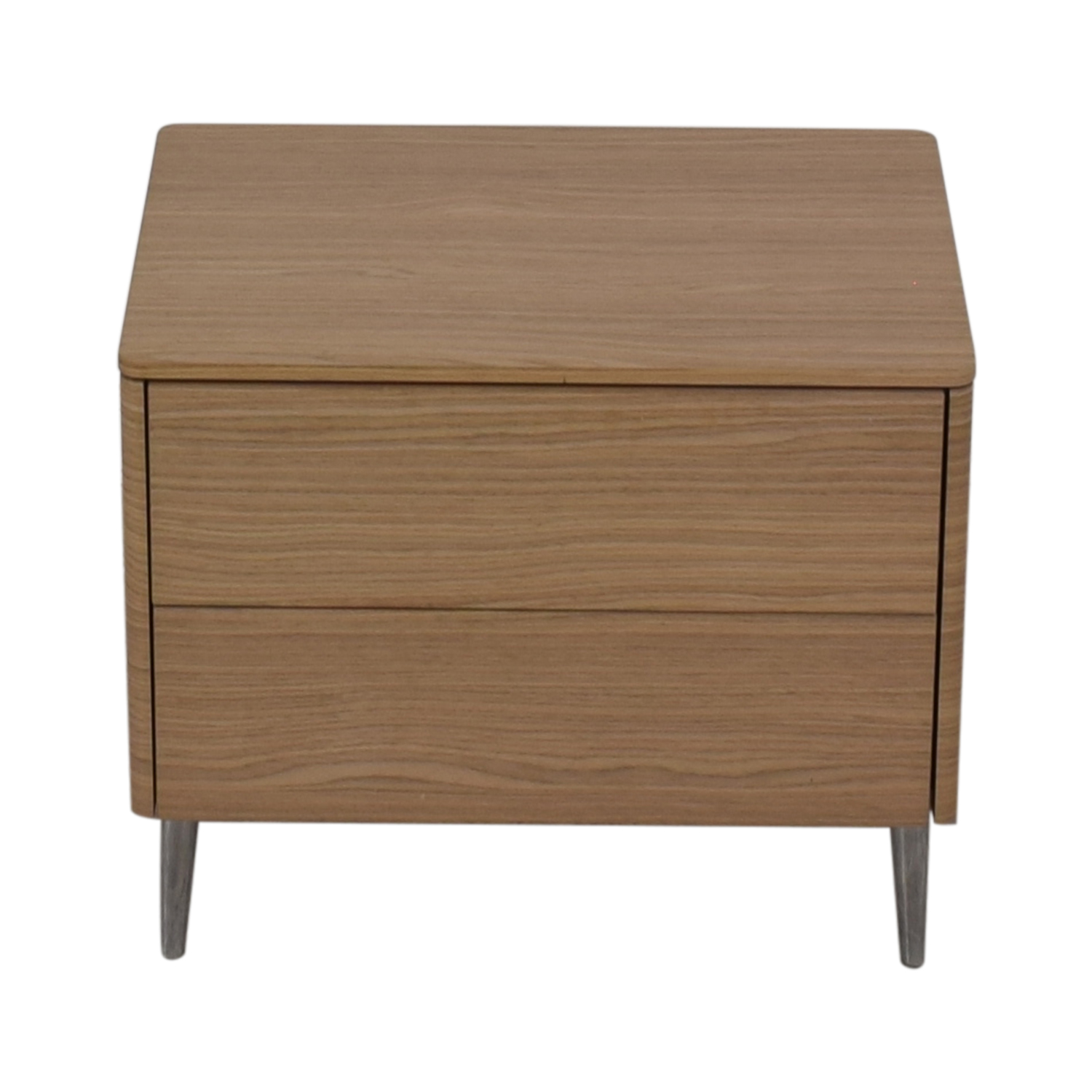 buy Calligaris Boston Two Drawer Nightstand Calligaris End Tables