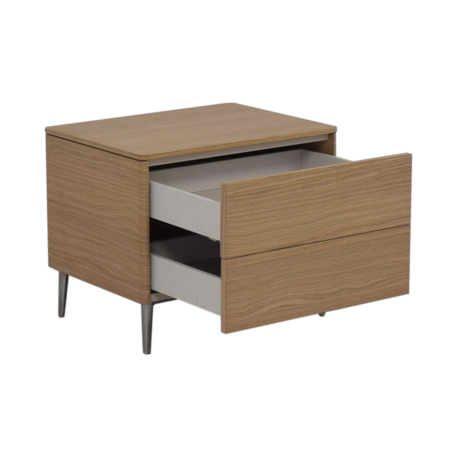 Calligaris Boston Two Drawer Nightstand / End Tables