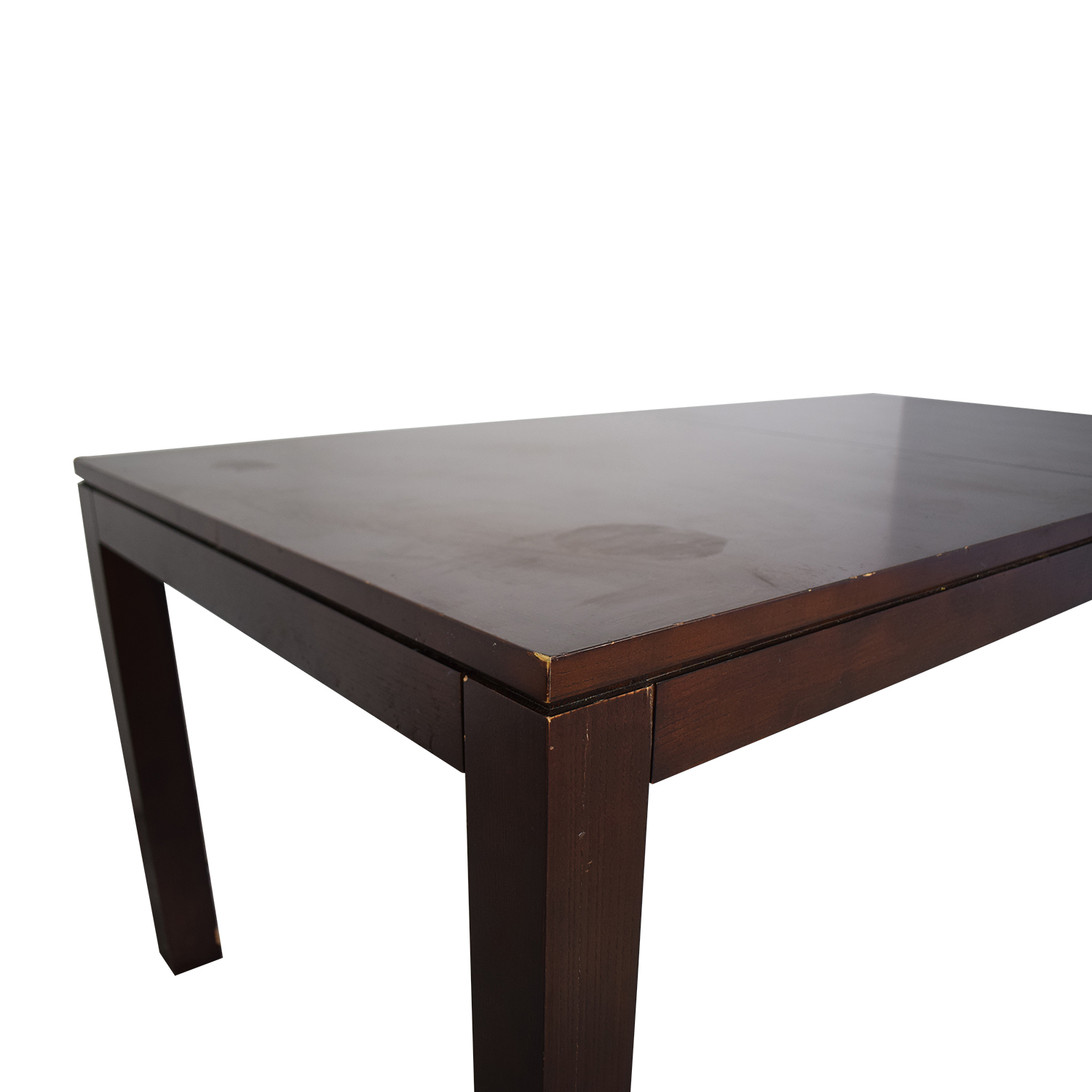 shop Ethan Allen Solid Wood Dining Table Ethan Allen Tables