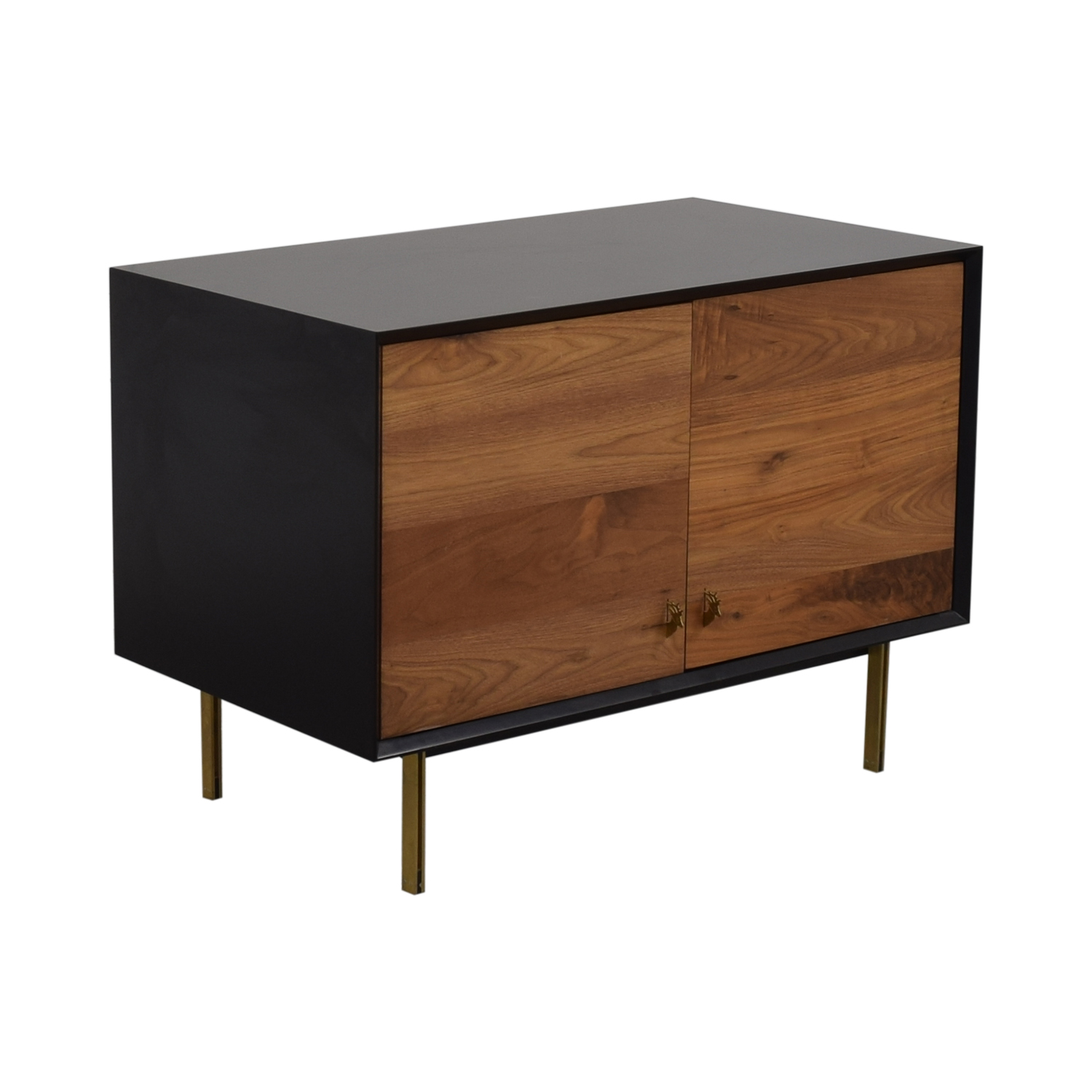 Organic Modernism Organic Modernism Custom Made Wood Media Cabinet dimensions