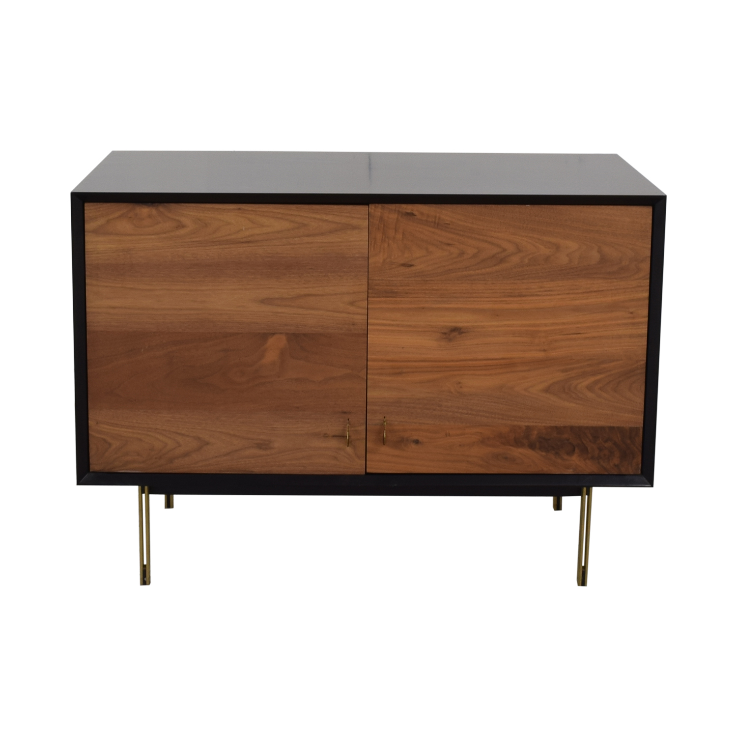 Organic Modernism Organic Modernism Custom Made Wood Media Cabinet nj