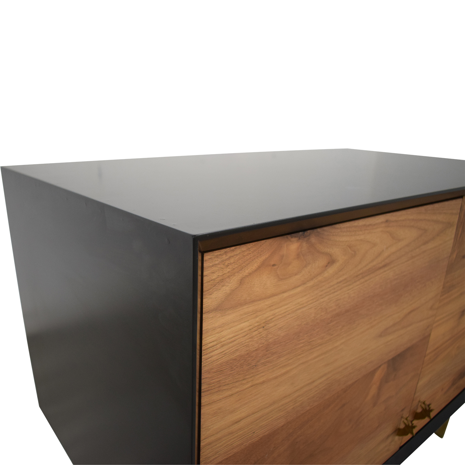Organic Modernism Organic Modernism Custom Made Wood Media Cabinet on sale