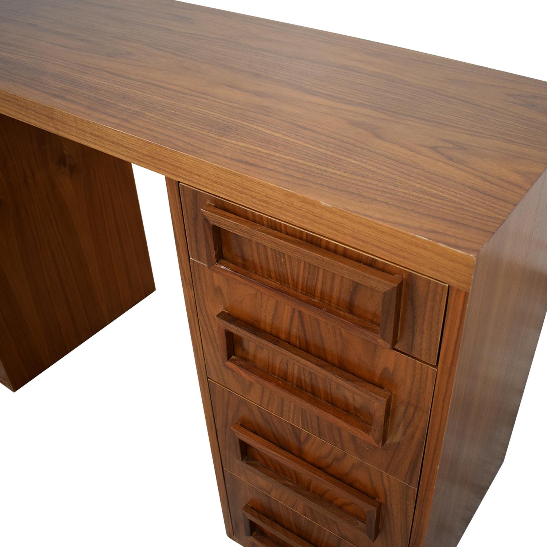 83% OFF - Wood Desk Custom Made / Tables