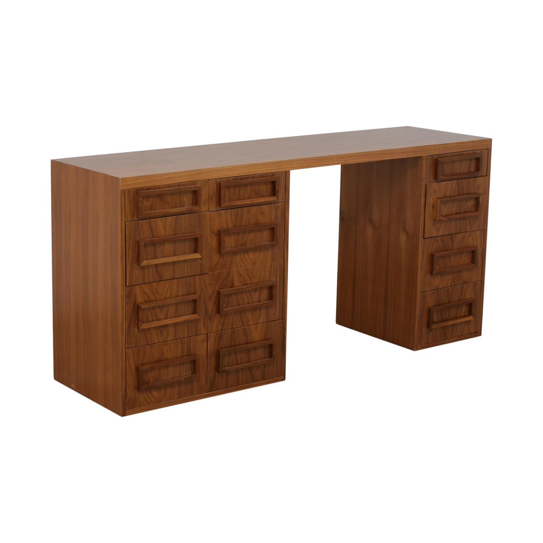 Wood Desk Custom Made on sale
