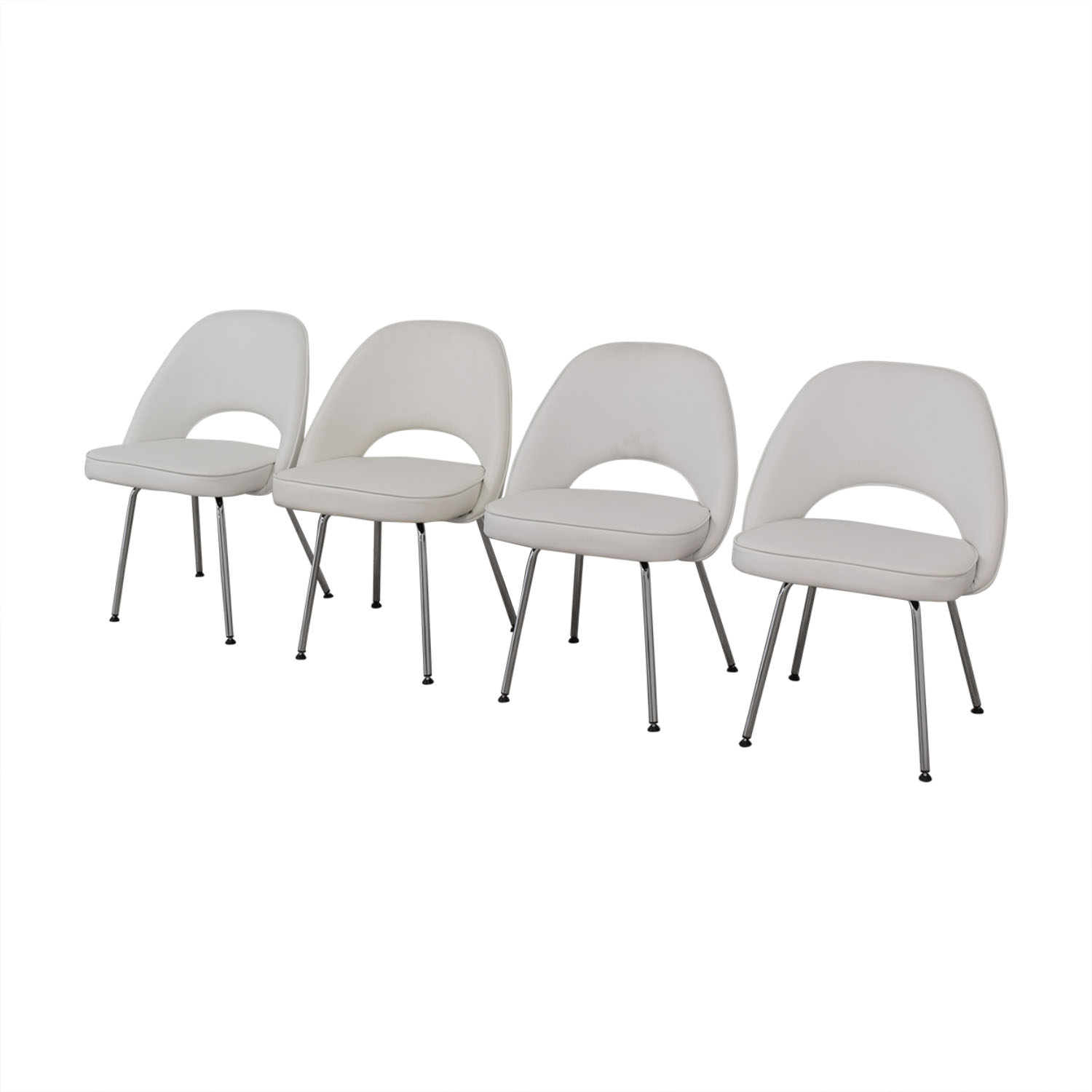 Control Brand Control Brand Leather Dining Chairs discount
