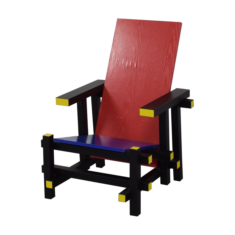 Control Brand Control Brand Rietveld-Style Mid Century Lounge Chair price