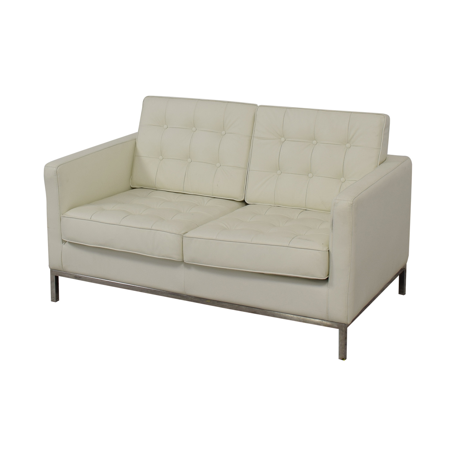 Control Brand Control Brand Mid Century Tufted Loveseat for sale