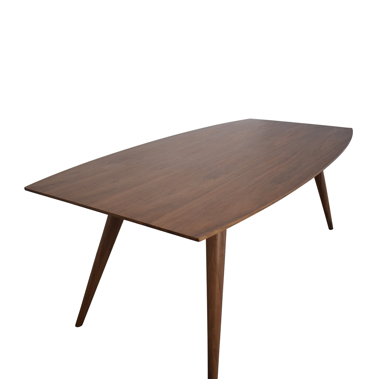 Eurø Style Euro Style Mid Century Dining Table second hand
