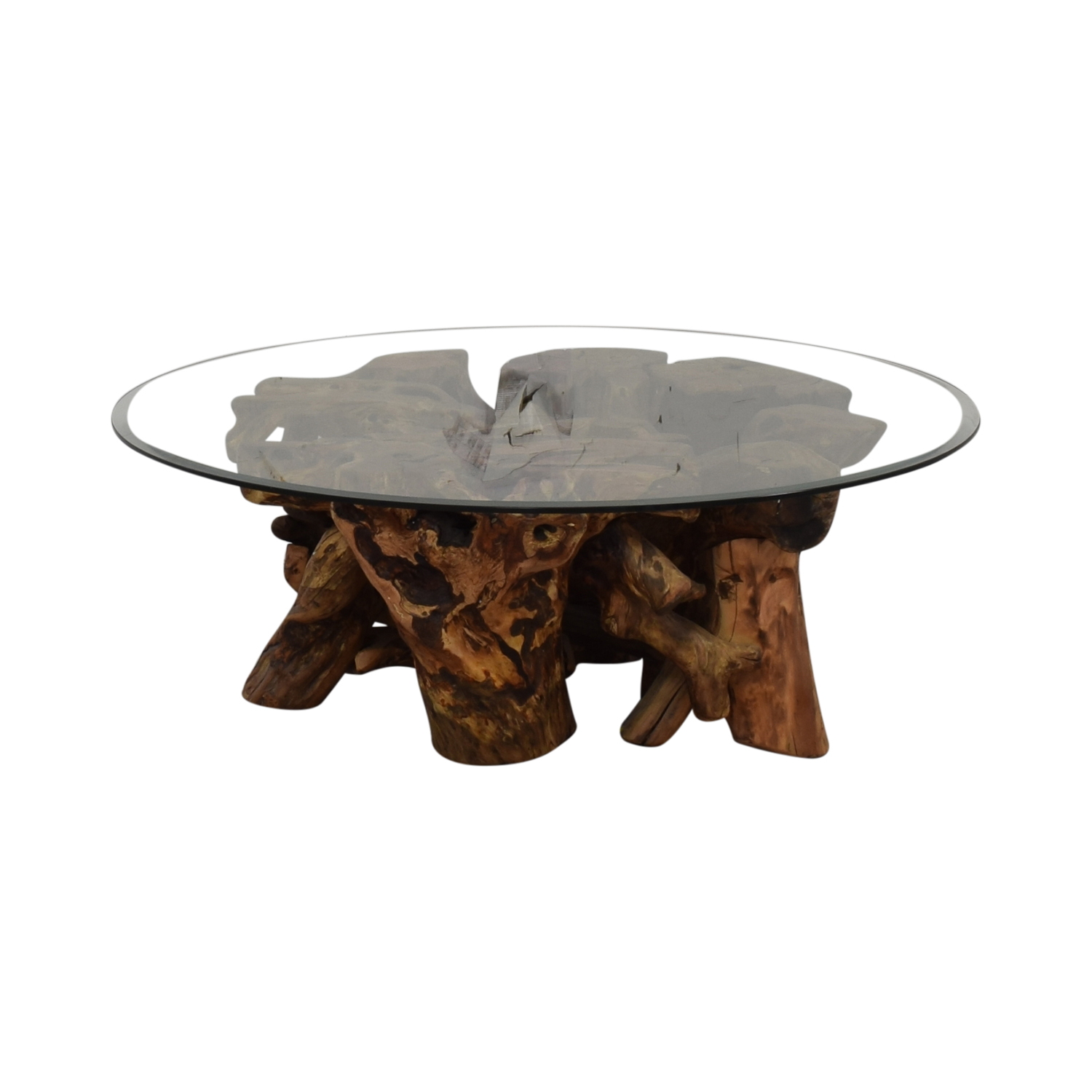 Control Brand Wooden Tree Trunk Coffee Table / Tables
