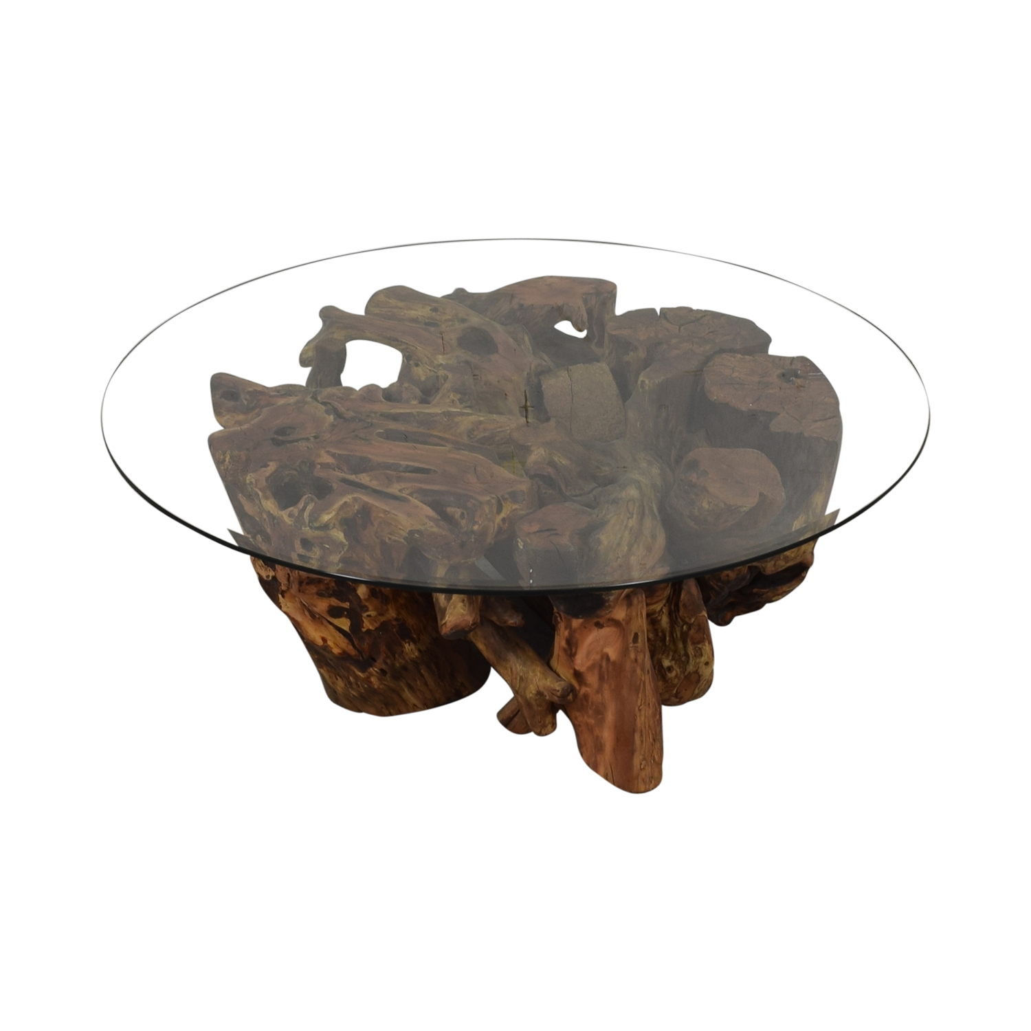 Control Brand Control Brand Wooden Tree Trunk Coffee Table discount