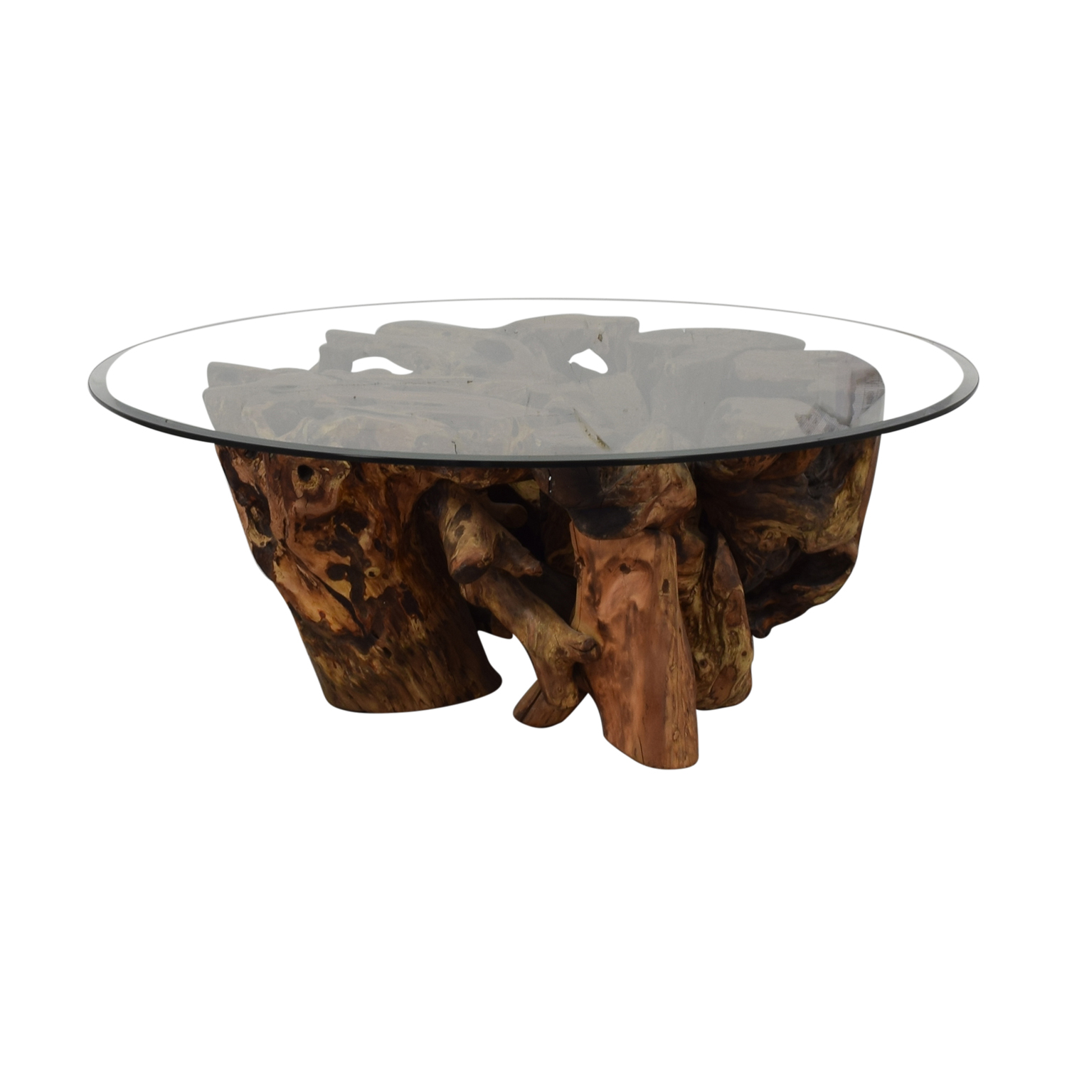 Control Brand Control Brand Wooden Tree Trunk Coffee Table price