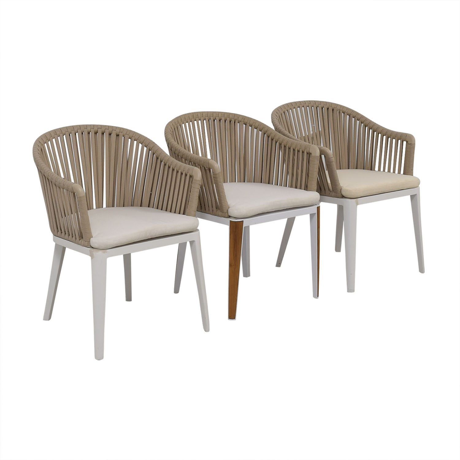 Control Brand Control Brand Lounge Chairs white