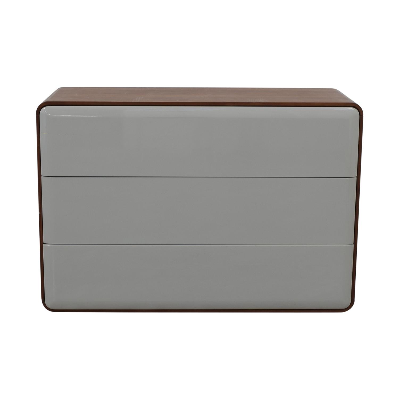 Control Brand Control Brand Mid Century Three Drawer Dresser nyc