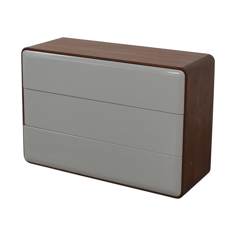 Control Brand Control Brand Mid Century Three Drawer Dresser nj