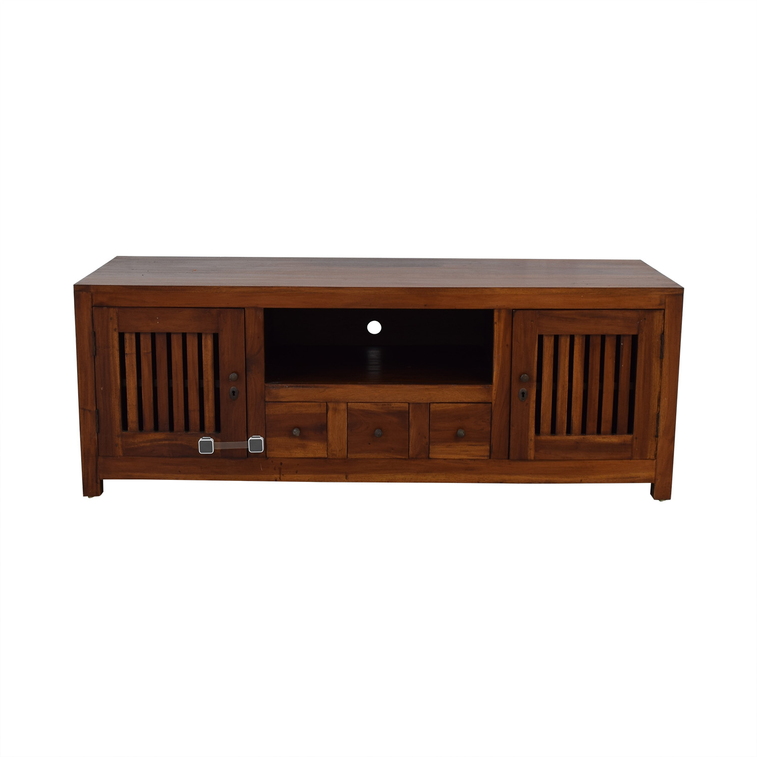 buy Teak Entertainment Center  Media Units