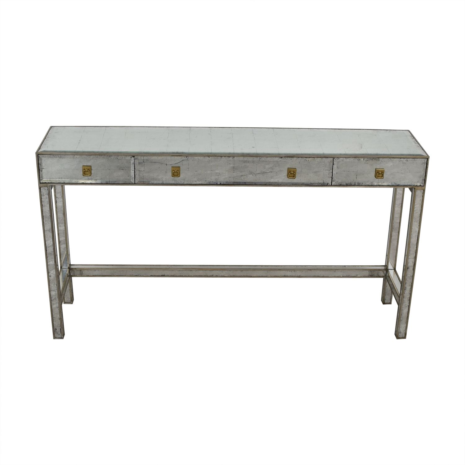 shop Safavieh Mirrored Console Table Safavieh Accent Tables